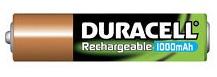 duracell rechargeable 1000mAh